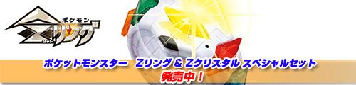 ポケットモンスター ポケモン Zリング&Zクリスタル スペシャルセット