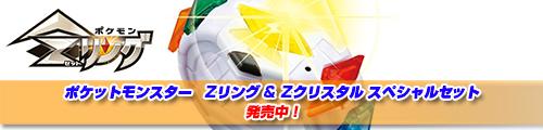 ポケットモンスター ポケモン Zリング & Zクリスタル スペシャルセット